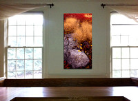 "Virtual fitting of ""Blueberry Cairns 2"" as a gallery-wrap canvas"