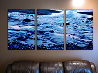 """Lake Superior Canvas"" VF triptych"